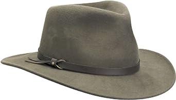 e891214c97058 Scala Classico Men s Crushable Felt Outback Hat