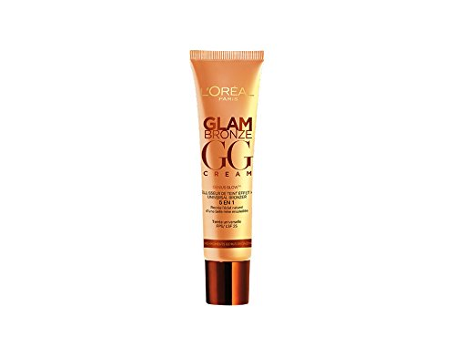 L'Oréal Paris Glam Bronze Gg Cream Terra Abbronzante in Gel SPF 25