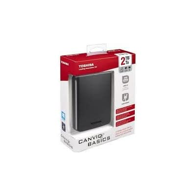 Toshiba Canvio Basics USB 3.0 Portable 2TB External Hard Drive