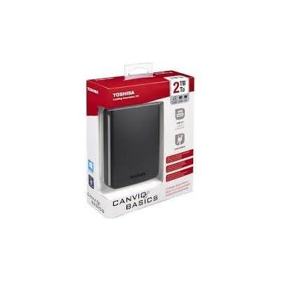 Toshiba Canvio Basics USB 3.0 Portable 2TB External Hard Drive