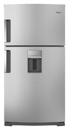 Whirlpool Wrt771Reym 21.1 Cu. Ft. Stainless Steel Top Freezer Refrigerator - Energy Star front-38690