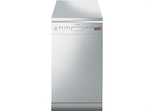 Smeg LSA4525X Autonome 10places A++ Acier inoxydable lave-vaisselle - laves-vaisselles (Autonome, A++, Acier inoxydable, A, Auto 45-65 ºC, Delicate, Économie, verre/délicat, Intensif, Normal, Pré-lavage, Rapide, plus bas, haut)