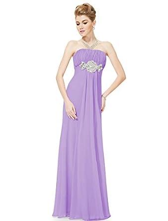 ef2520be98 Ever Pretty Padded Empire Chiffon Ruching Gorgeous Bridesmaid Dress 09652