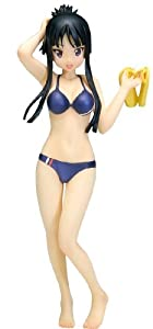 K-on! Akiyama Mio Swimsuit Ver. [1/10 Scale PVC] (japan import)