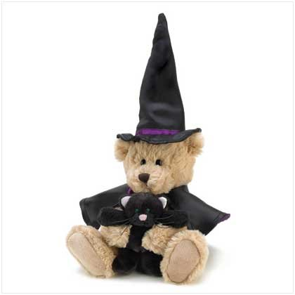 Bewitched Sorcerer Teddy Bear Plush Halloween