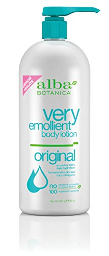 Alba Botanica Very Emollient Body Lotion Original - 32 Oz