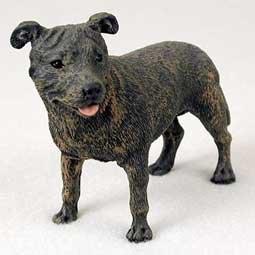 Staffordshire Bull Terrier Figurine