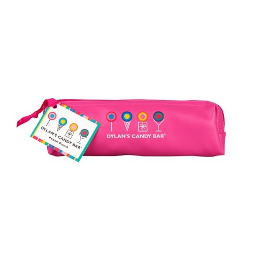 Dylan's Candy Bar Pencil/Makeup Pouch - I (Heart) Candy