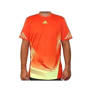 Adidas Adizero Manche Courtes Course à Pied T-Shirt - XL