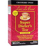 Super Dieters Tea Cranberry 30 Bags