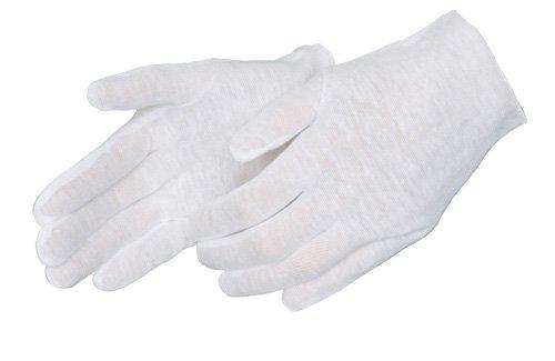 Liberty 4401ML Cotton Premium Weight Lisle Inspectors Men's Glove (Pack of 12)