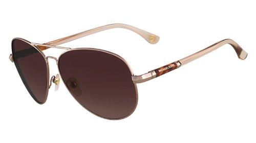 Michael Kors 2477S 780 Rose Gold Karmen Aviator Sunglasses