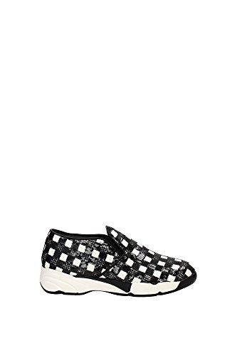 Sneakers Pinko Donna Paillettes Nero e Bianco 1H2050Y1RJZZ1 Nero 36EU