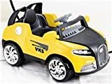 Kids' Ride On Toy Bugotti Style Power Car w Parental Remote Control Wheels