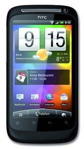 T-Mobile HTC Desire S Smartphone, 3G, T-Mobile Branding, schwarz