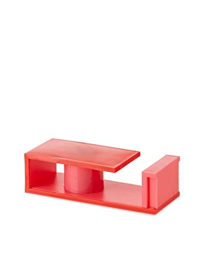 mt Masking Tape Magnetic Tape Cutter, Red/Pink