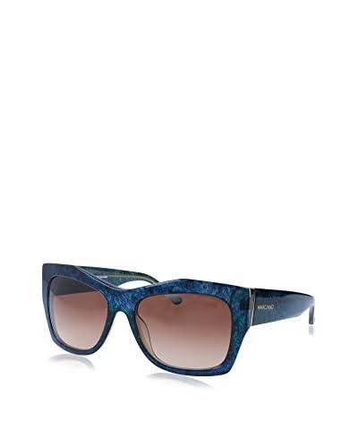 GUESS Gafas de Sol 715 O (55 mm) Azul