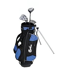 Confidence Junior Golf Club Set w/Stand Bag for Kids Ages 4-7 RH