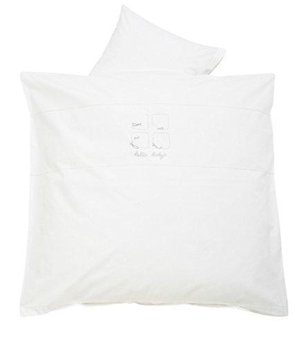 alvi-parure-de-lit-avec-housse-de-couette-100-coton-blanc-40x60-cm-100x135-cm