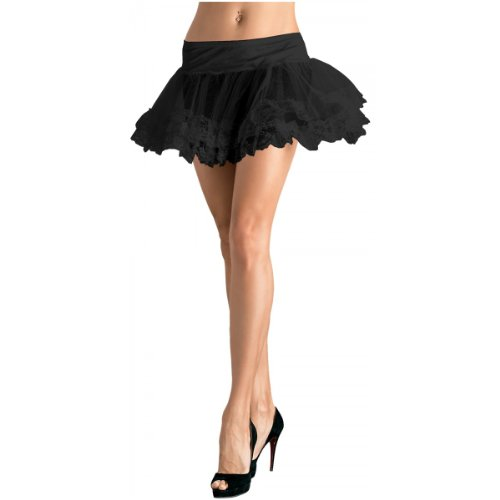 Lace Trimmed Petticoat Costume Accessory - One Size - Dress Size 6-12
