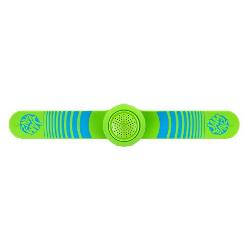 Jambanz Bluetooth Wristband Speaker, Sonic Boom Pattern, Kiwi