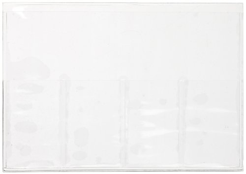 Dynalon 635284 5-Place Vinyl Microscope Slide Storage Sleeve (Case Of 100)