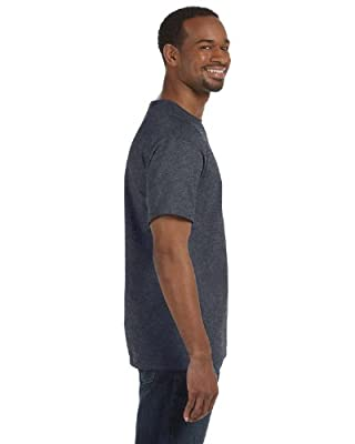 Hanes 6 oz. Tagless T-Shirt, Charcoal Heather
