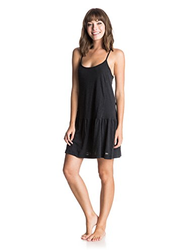 roxy-womens-pacific-state-sleeveless-dress-true-black-small