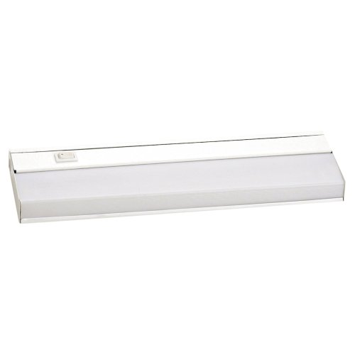 Yosemite Home Decor Ft1001 Under Cabinet Lighting Series 12-Inch Under Cabinet Light With Electronic Ballast With White Frame And Acrylic Lens