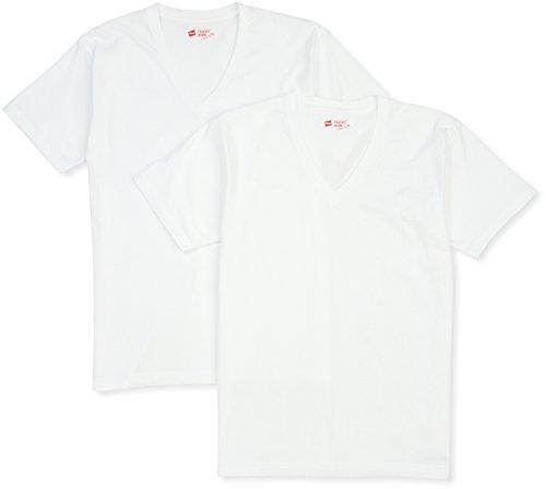 (ヘインズ)Hanes Tシャツ ジャパンフィット Vネック 2枚組 (2016年モデル) Hanes