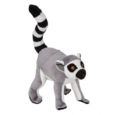 Ringtail Lemur Pounce Pal Plush Stuffed Animal - 1