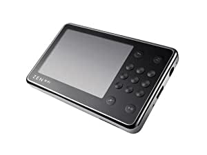 Creative Zen X-Fi 16 GB Video MP3 Player with Wireless LAN and Built-In Speaker (Black/Silver)