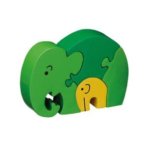 Mother & Baby Elephant Jigsaw