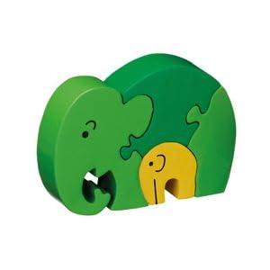Mother & Baby Elephant Jigsaw