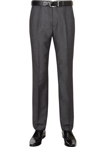 Austin Reed Slim Fit Charocal Mohair Trousers REGULAR MENS 36