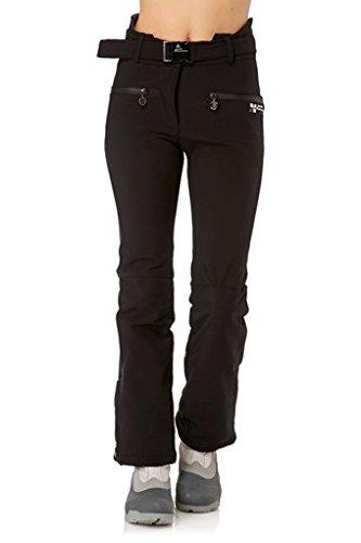Peak Mountain - pantaloni da sci AFUZZI-nero-T2