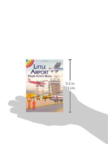 Little Airport Sticker Activity Book Dover Little border=