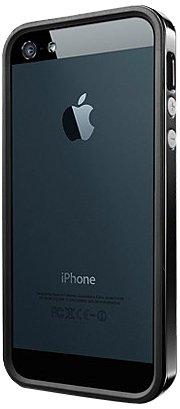 SPIGEN+SGP+iPhone5ケース+ネオ・ハイブリッド+EX+ビビッドシリーズ+[ソウル・ブラック]+【SGP09520】