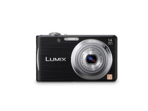 Panasonic Lumix DMC-FH2 14.1 MP Digital Camera with 4x LEICA Optical Zoom and 2.7-Inch LCD (Black)