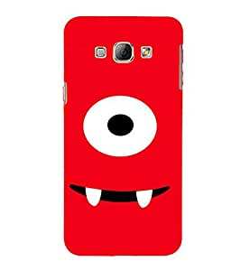 EPICCASE Cute monster Mobile Back Case Cover For Samsung Galaxy A8 (Designer Case)