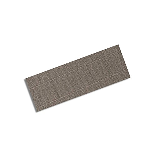 "Tapecase 5-3M Cn3490-3/4-3R Gray Non-Woven Conductive Fabric Tape, 3"" Length, 0.75"" Width, Rectangles (Pack Of 5)"