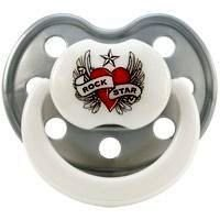 Rock Star Baby Succhietto Taglia 2 Heart & Wings