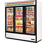 True Refrigeration True True Glass Door Merchandiser Freezer White