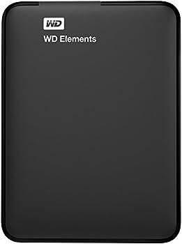 WD Elements 1TB USB 3.0 Portable External Hard Drive