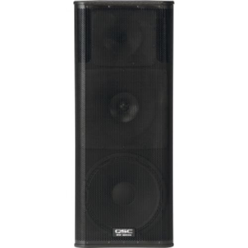 Qsc Kw153 Active Loudspeakers 3 Way 15 Inch 1000 Watt Lightweight Birch Design