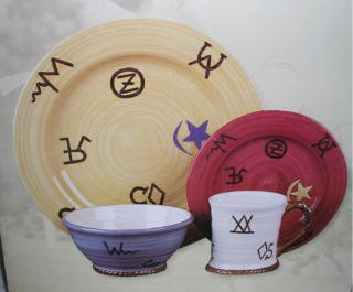 Buy Multi-color Western Dinnerware 16 pc. set