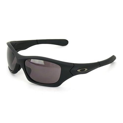 オークリー (OAKLEY) サングラス Pit Bull (ピットブル) Matte Black/Warm Grey OO9161-04 [モンスタードッグ 後継モデル]