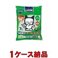 【1ケース納品】【1個あたり513円】 ライオン商事 ペットキレイ お茶でニオイをとる砂 7L ×6個入