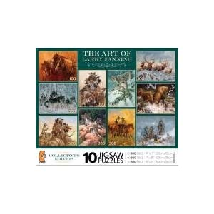 Ceaco Americana Multi Pack Collection Puzzles