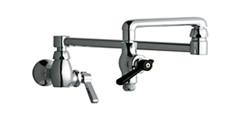 Chicago Faucets 515-CP Wall Mount Pot Filler, Chrome